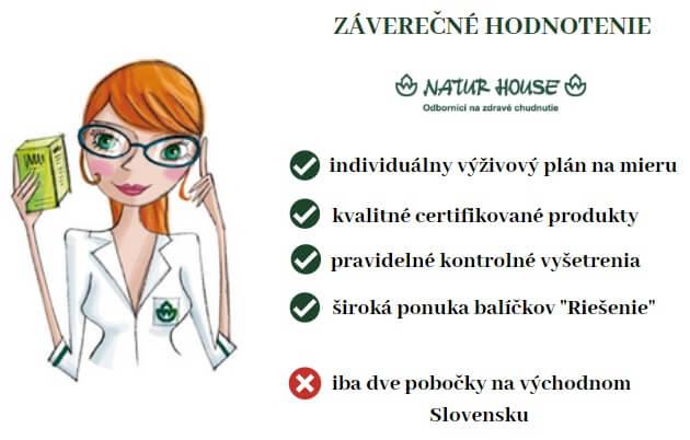 pozitívna a negatíva výživového poradenstva naturhouse
