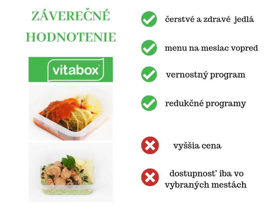 Záverečné hodnotenie spolu s výhodami a nevýhodami Vitabox