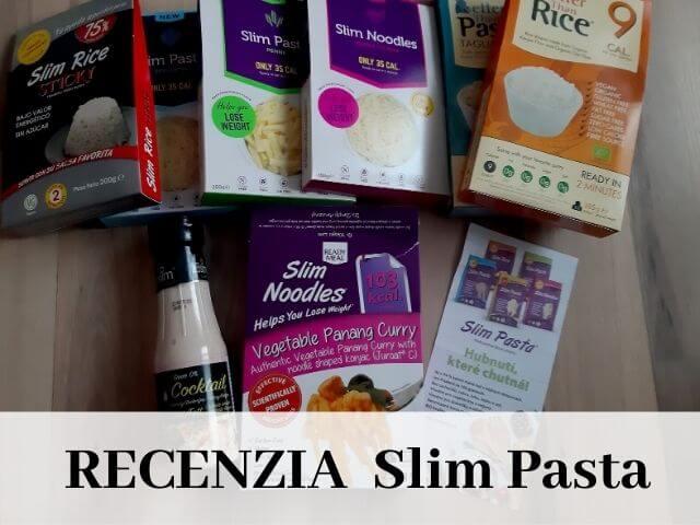 Produkty Slim Pasta - cestoviny, ryža, dresing, hotové jedlá