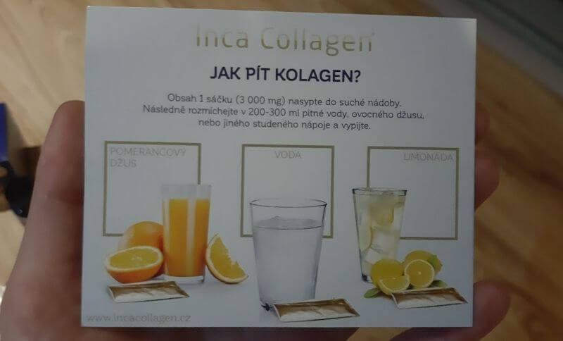 Ako piť Inca Collagen