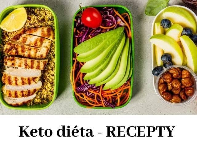 6 keto diéta receptov