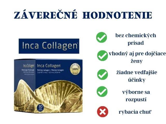 Pozitíva a negatíva Inca Collagen