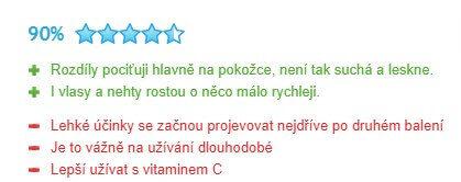 Hodnotenie collalloc na portály Heureka.sk