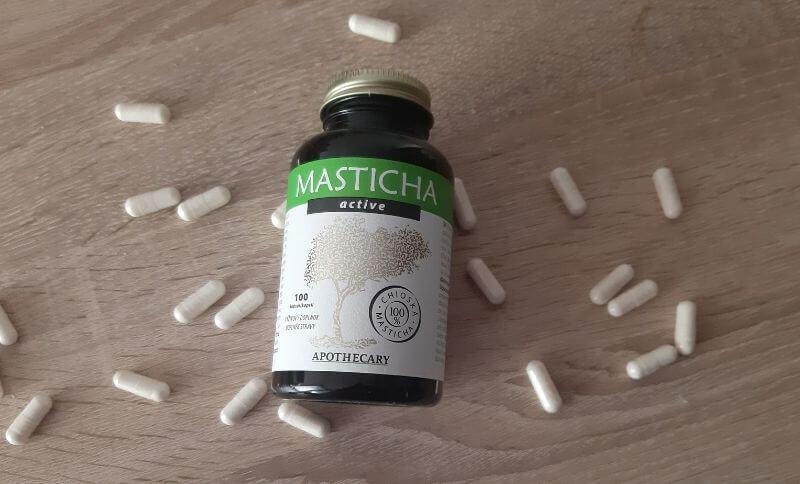 Masticha Active je dostupná vo forme kapsúl