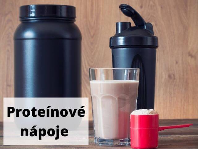 Proteínové nápoje - titulná fotka