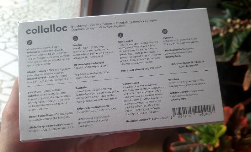 Všetky dôležité informácie, vrátane užívania nájdete na zadnej strane krabičky.