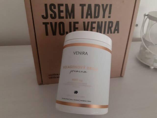 Venira kolagén Premium obsahuje až 8000 miligramov kolagénu v jednej dávke.