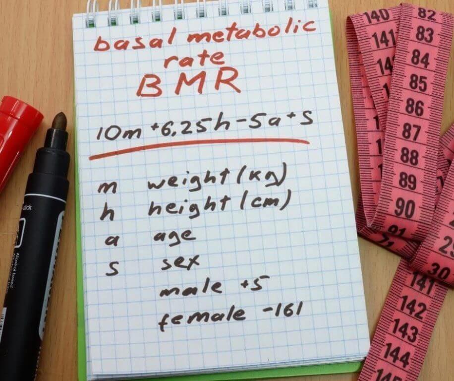 Jedným z najpoužívanejších vzorcov na výpočet BMR je Mifflinova rovnica