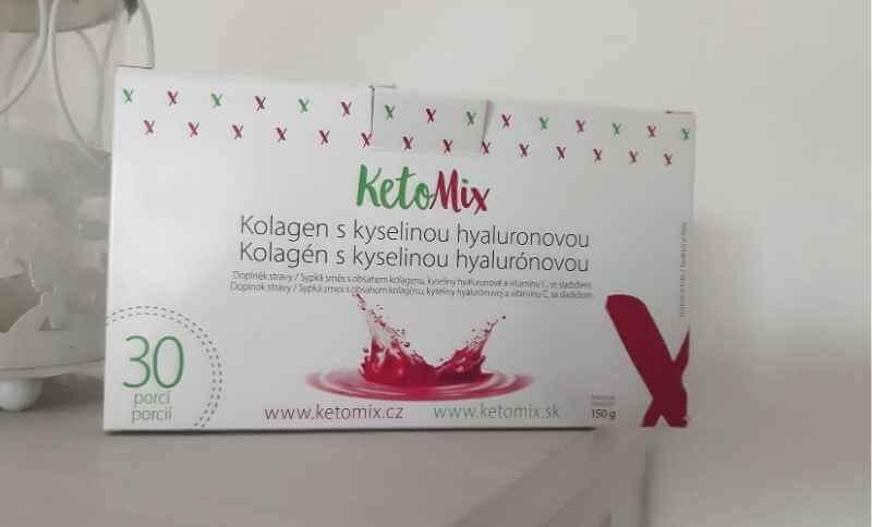 Celé balenie KetoMix kolagénu obsahuje 30 vreciek, teda 30 dávok.