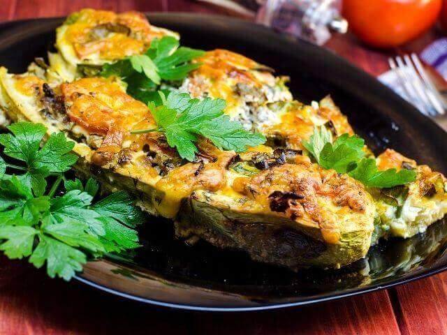 Recept na nízkosacharidové jedlo - cuketové burrito