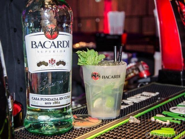Osviežujúci drink s Bacardi rumom
