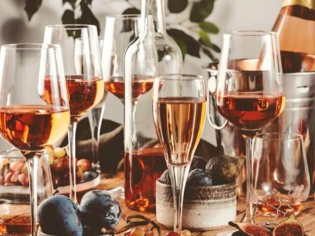 Poháre šampusu Dom Pérignon rosé