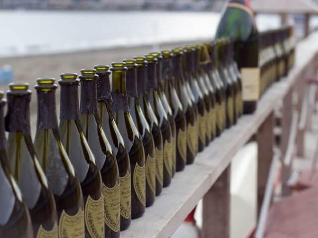 fľaškovanie vína Dom Pérignon