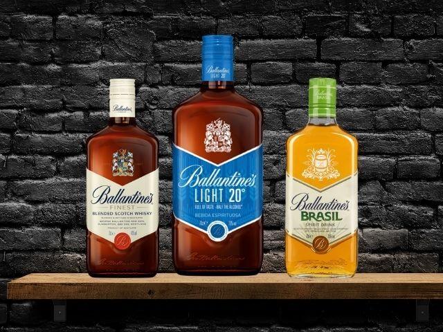Ballantine's whiskey - história, druhy